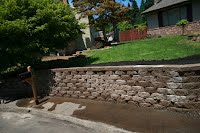 retaining wall 3'8'' tall